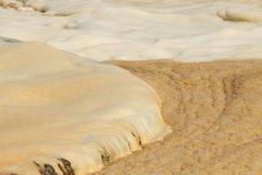 Geactiveerde modder - Behandelings van afvalwaterinstallatie stock foto's
