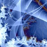 Geada azul Fotos de Stock