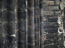 Gealterte Backsteinmauer Lizenzfreies Stockbild