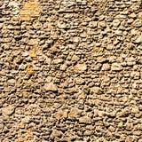 Gealterte Backsteinmauerbeschaffenheit oder -hintergrund Struktur der Ziegelsteine Lizenzfreies Stockfoto