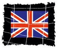 Gealterte brittish Markierung Stockbild