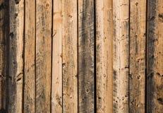 Gealterte hölzerne Wand Stockbilder