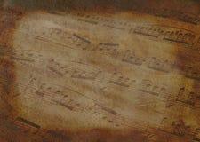 Gealterte Musik Lizenzfreies Stockbild