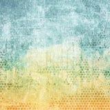 Gealterte Papierfarbenbeschaffenheit Lizenzfreies Stockbild