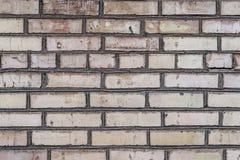 Gealterte Schmutzbacksteinmauer Lizenzfreie Stockfotografie