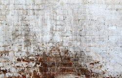 Gealterte Steinwand Stockfoto