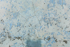 Gealterter alter roter weißer konkreter horizontaler Hintergrund Gray Brick Wall Texture Destroyeds Schäbige städtische unordentl Stockfoto