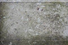 Gealterter alter roter weißer konkreter horizontaler Hintergrund Gray Brick Wall Texture Destroyeds Schäbiges städtisches unorden Lizenzfreies Stockfoto