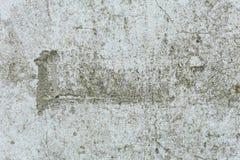 Gealterter alter roter weißer konkreter horizontaler Hintergrund Gray Brick Wall Texture Destroyeds Schäbiges städtisches unorden Lizenzfreie Stockfotografie