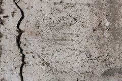 Gealterter alter roter weißer konkreter horizontaler Hintergrund Gray Brick Wall Texture Destroyeds Schäbiges städtisches unorden Stockbilder