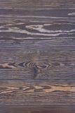 Gealterter gebratener Holztisch Stockfoto