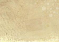 Gealterter Papierhintergrund Stockfoto