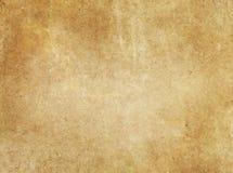 Gealterter schmutziger Papierhintergrund oder Beschaffenheit Lizenzfreie Stockfotografie