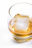 Gealterter Whisky auf den Felsen Lizenzfreies Stockfoto