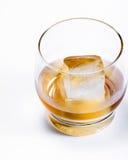 Gealterter Whisky auf den Felsen Stockbilder