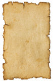 Gealtertes altes Papier Stockfoto