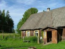 Gealtertes Haus Stockbild