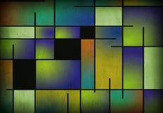 Gealtertes Mondrian mögen malen Lizenzfreies Stockbild