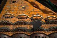 Gealtertes Musikinstrument Lizenzfreies Stockbild