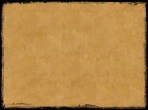 Gealtertes Papier Stockfoto