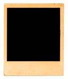 Gealtertes Polaroid Stockbild