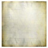 Gealtertes Weinlese-Papier Stockfotografie