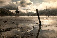 Geamăna ekologisk katastrof royaltyfri fotografi