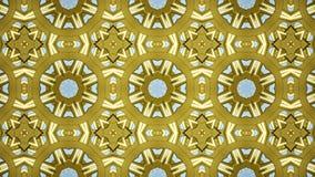 Geanimeerd abstract uitstekend bloementextuurbehang het 3D teruggeven 4k stock illustratie