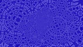 Geanimeerd blauw Oneindig Gezoem Als achtergrond vector illustratie