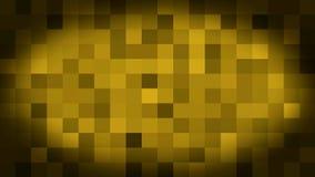 Geanimeerd pixelated van de lijnkunst 3d animatie als achtergrond stock illustratie