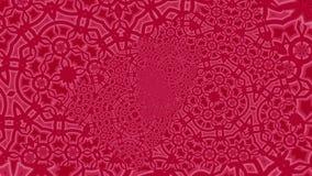 Geanimeerd rood Oneindig Gezoem Als achtergrond royalty-vrije illustratie