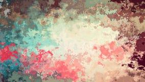 Geanimeerde bevlekte achtergrond naadloze lijnvideo - retro kleuren stock videobeelden