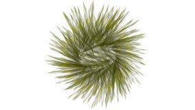 Geanimeerde sferische Deeltjes royalty-vrije illustratie