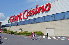 Geant Casino Stock Photo