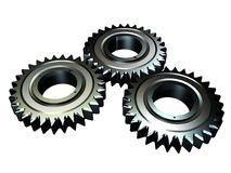 Gear. Render of a 3d Royalty Free Stock Photos