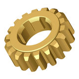 Gear. Vector illustration.Isolated on white Stock Image
