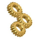 Gear. Vector illustration.Isolated on white Royalty Free Stock Photo
