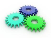 Gear. Digital illustration of Gear in 3d stock illustration