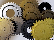 Gear stock illustration