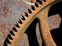 Gear. Detail Royalty Free Stock Images