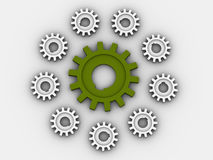 Gear. Royalty Free Stock Photography
