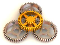 Gear stock illustration