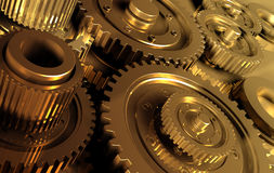 Gear_6. Backgrounds  gears engineering technology backdrop Royalty Free Stock Images