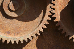 Gear. Rusty gear Royalty Free Stock Images