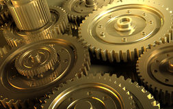 Gear_8. Backgrounds  gears engineering technology backdrop Stock Photos