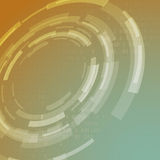Gear abstraction modern background template Stock Image