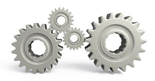 Gear artwork Stock Images