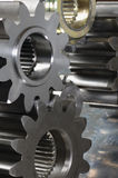 Gear-assembly ideas Royalty Free Stock Images