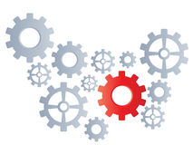 Gear background Royalty Free Stock Photography