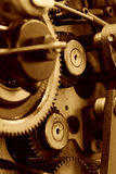 Gear background Stock Images